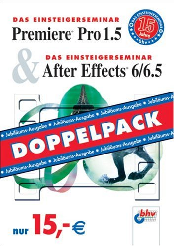 Premiere Pro 1.5 & After Effects 6/6.5: Doppelpack
