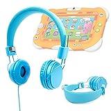 Best Nickelodeon Casques enfants - Duragadget casque réglable bleu pour enfant, compatible avec Review
