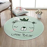 Alfombra de baño antideslizante INICIO Alfombra redonda simple de dibujos animados para niños Sala de estar