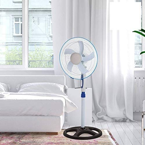 bms lifestyle super silent pedstal fan with 5 blade