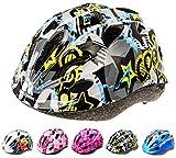 Meteor Casco Bici Ideale per Bambini e Adolescenti Caschi Perfetto per Downhill Enduro Ciclismo MTB Scooter Helmet Ideale per Tutte Le Forme di attività in Bicicletta Helmo HB-6-5
