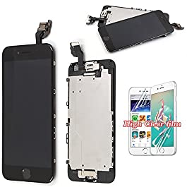 recyco Screen Replacement For iPhone 6 LCD Touch Full Set With Frame Display Digitizer Full Assembly with Home Button and Camera