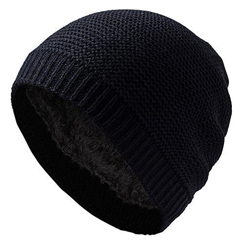 Emper weiches unisex Slouch Beanie Mütze in Feinstrick mit warmem