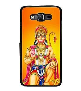 Printvisa Ultra Bajrang Bali 2D Hard Polycarbonate Designer Back Case Cover for Samsung Galax...