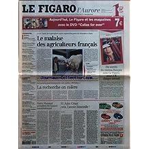 FIGARO L'AURORE (LE) [No 18526] du 28/02/2004 - SALON DE L'AGRICULTURE - PIERRE MAZEAUD - LA FRANCE RURALE - PILLAGES DE PORT-AU-PRINCE - BLAIR ET LES ECOUTES - BELGIQUE - LE PROCES DUTROUX - LIMOUSIN - BAVURE - SARKOZY PROMET DES SANCTIONS - LES PUBLIPHOBES MOBILISENT - VOILE - LA SOLITAIRE - CHOMAGE ET BAISSE CONTESTEE - PLAN DE RESTRUCTURATION DE GIAT