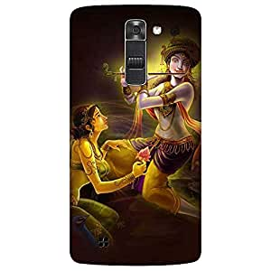 Bhishoom Printed Hard Back Case Cover for LG K7 - Premium Quality Ultra Slim & Tough Protective Mobile Phone Case & Cover