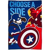 "Marvel Captain America ""CIVIL WAR"" Fleece Decke–Großer Print"