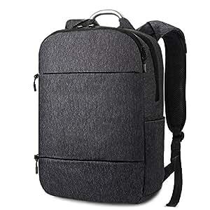 """REYLEO Zaino per computer portatile da 15.6 """" Backpack con una protezione a 360 ° per il portaile ideale per il viaggio, lavoro e università ( Blu scuro )"""