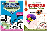 Olympiad Class 9 Online Practice Tests + Science Book For NSO (Set Of 2 Books)