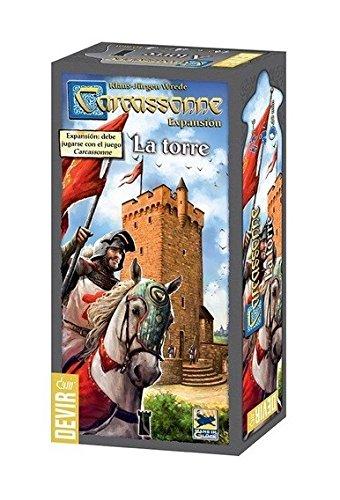 Carcassonne - La torre, juego de mesa (Devir BGCARTO)