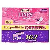 Lines Intervallo Disteso Proteggislip - 162 pezzi