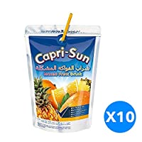 ‏‪Capri Sun 10X200ml Mix Fruit‬‏