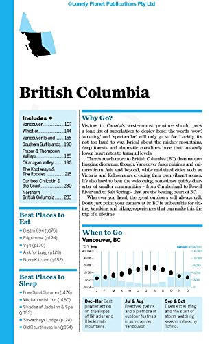 British Columbia & Canadian Rockies (Country Regional Guides) - 5
