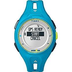 Timex Coronado controls Unisex reloj infantil de cuarzo con pantalla Digital y azul correa de resina TW5K87600