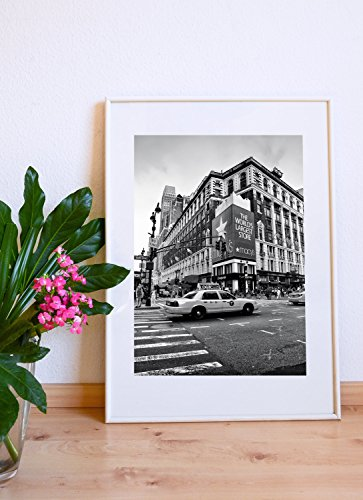 New YorkTaxi Macy´s Fotografie 30 x 40 cm