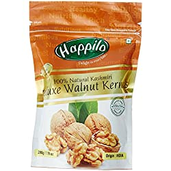 Happilo Deluxe 100% Natural Kashmiri Walnut Kernels, 200g