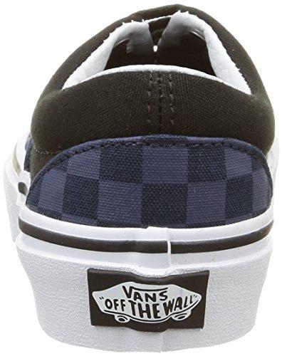 Vans Era Scarpe da Ginnastica Basse, Unisex Bambini Multicolore (checkerboard/dress Blues/black)