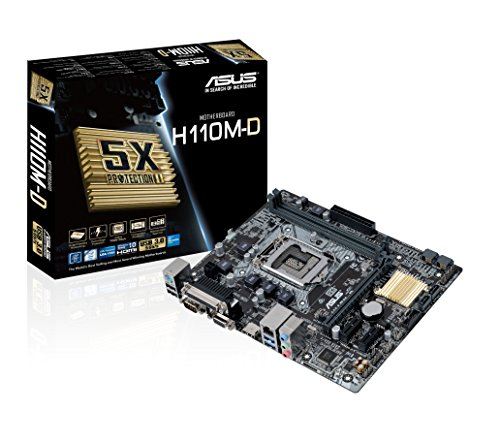 Asus H110M-D - Placa Base 2 x DDR4
