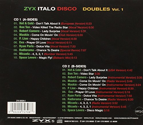Zoom IMG-1 zyx italo disco 12 inch