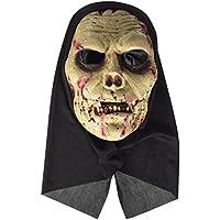 Máscara zombie con capucha adulto Halloween - Única