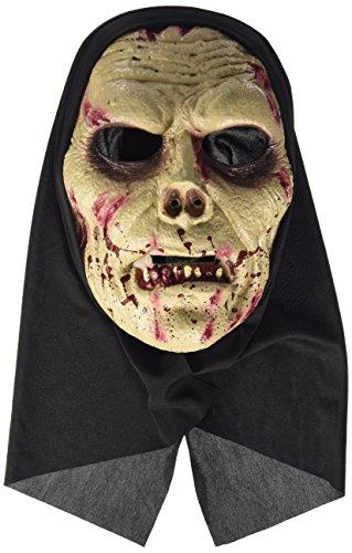 Widmann 00465 - maschera con cappuccio 'zombie', in taglia unica adulto