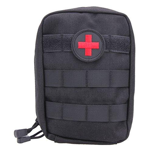 Widewing First Bag Molle Medizinische Notfalltasche für den Außenbereich, Unisex, Schwarz