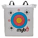 Mybo Trueshot Ziel-Schießsack weiss für Bogensport