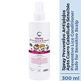 Spray Prottetivo Pidocchi Bambini - 300 ml - Prodotti Preventivo Antipidocchi - Naturale Quassia Vinegar