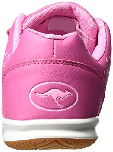 KangaROOS Vander Court V, chaussons d'intérieur fille Pink (MAGENTA/LT ROSE)