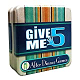 Cheatwell After Dinner Games - Give Me 5 Game