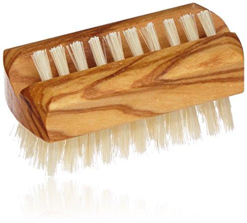 Croll & Denecke 20248 Brosse à ongles en bois d'olivier de haute qualité