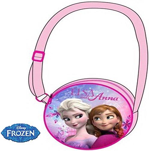 Disney Frozen Elsa & Anna- Kinder Schultertasche /Mini Tasche / Umhängetasche / Kindertasche Mädchenhandtasche / Handtasche (Geschenk Für Besondere Bedürfnisse Kind)