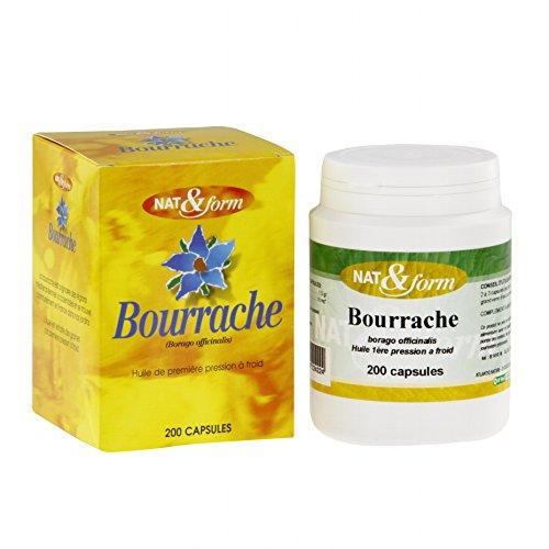 Atlanticnature - Huile De Bourrache 120 Gélules