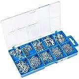 Connex DP8500056 Karosseriescheiben / Federringe Sortimentskasten, 500- teilig