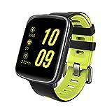 Diggro GV68 Smartwatch Bluetooth IP68 MTK2502D reloj inteligente Monitor de ritmo cardíaco Pedometer Monitor de sueño Sedentary Reminder Música y cámara remotos Anti-perdido para Android y IOS Tres colores (verde)