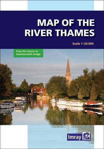 Buy River Thames Map From 163 4 72 Compare Today S Best 5