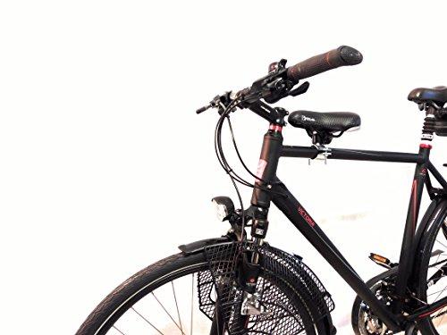 Fahrrad Kindersitz für vorn (Damenrad Gr.3 Rahmen Ø 40mm-68mm)