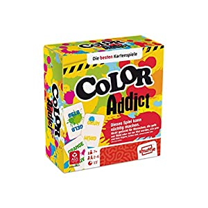 AGM Color Addict Learning Card Game - Juegos de Cartas (7 año(s), Learning Card Game, Color Addict, Niños, Niño/niña, 15 min)