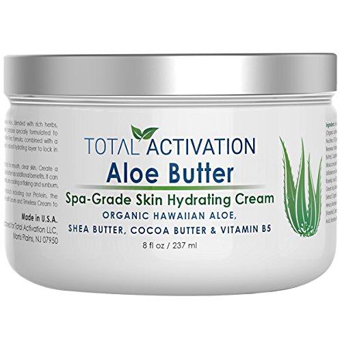 Total Activation burro vera hawaiana aloe per ringiovanimento della pelle 8 oz