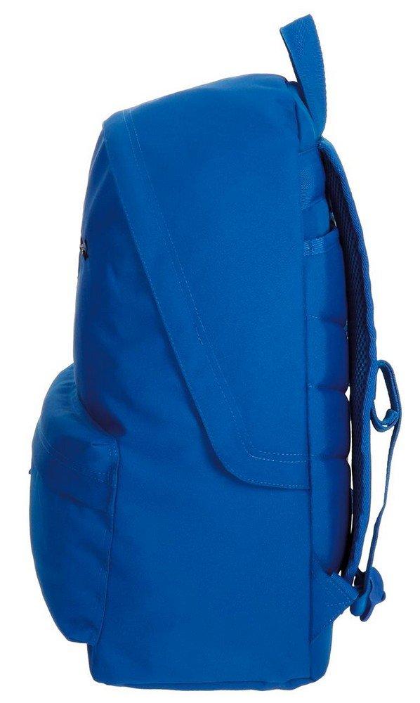 51hTBcuoN7L - Pepe Jeans 6682359 Harlow Mochila Escolar, 42 cm, 22.79 litros, Azul