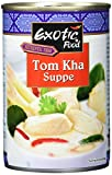 Exotic Food Tom Kha Suppe, servierfertig, 6er Pack (6 x 400 ml Dose)