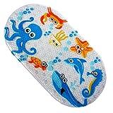 Jipai(TM) Tapis de bain Antidérapant Tapis de Baignoire pour Bébés Enfant Salle de Bain Durable et Résistant (Octopus)