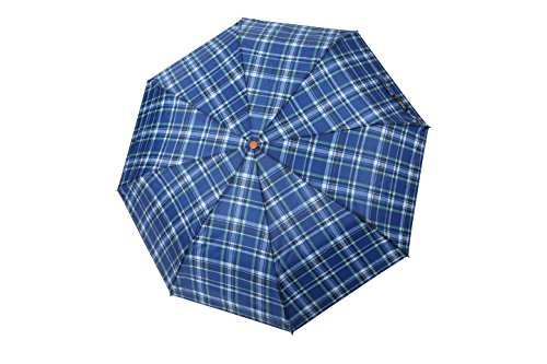 rain-street-folding-umbrella-checks-automatic-wind-resistant-blue