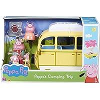 Peppa Pig 6922 Camping Trip PLAYSET, Multi Juego DE Viaje, Multicolor, 0 (Character Options 06922)