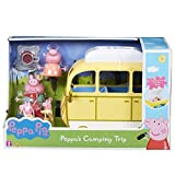 Go on camping adventures with this free-wheeling Peppa Pig holiday campervan. Store Peppa and George's bikes on the roof rack, and all the camping equipment on board! Then stop and lift up the roof box to reveal a bed inside, pitch up the ten...