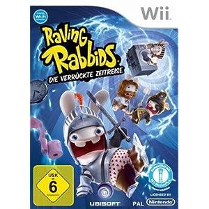 Raving Rabbids – Die verrückte Zeitreise [Software Pyramide] – [Nintendo Wii]