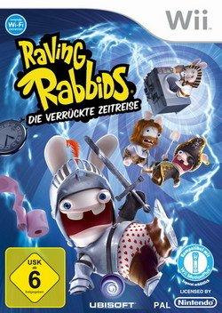 Raving Rabbids - Die verrückte Zeitreise [Software Pyramide] - [Nintendo - Wii Spiele Nintendo Familie Die Für