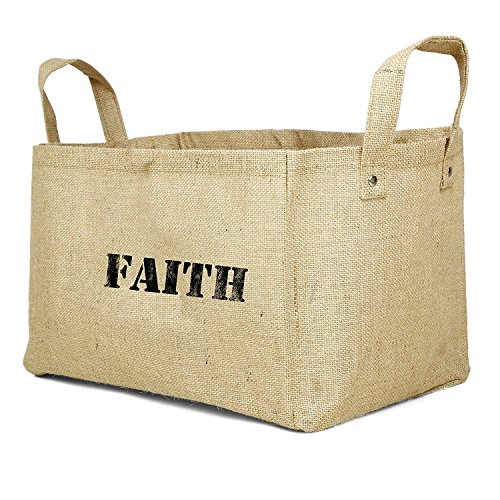 Gift Baskets Jute Comes in Faith