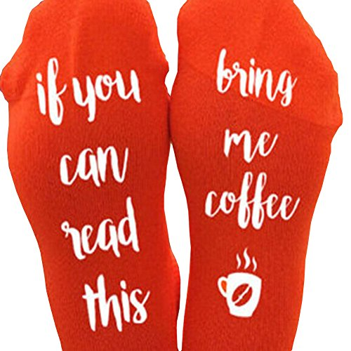 ONES-New-Novelty-Unisex-Funny-Christmas-If-You-Can-Read-This-Bring-Me-A-Glass-Of-Wine-Beer-Coffee-Socks