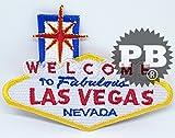 Welcome to Las Vegas Landmark Sign fer à repasser coudre sur brodé Patch